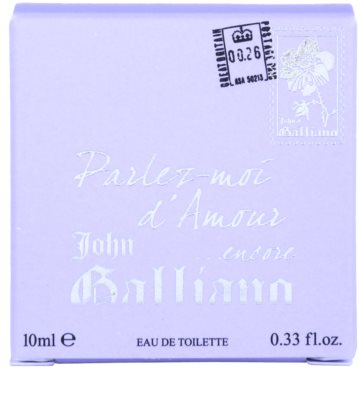 John Galliano Mini coffret presente 2