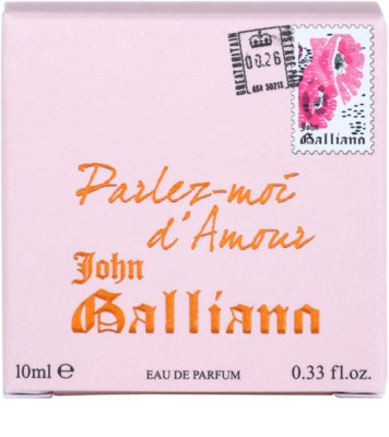 John Galliano Mini coffret presente 4