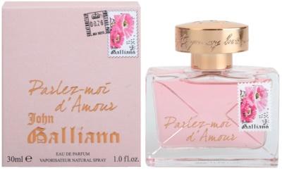 John Galliano Parlez-Moi d'Amour Eau de Parfum para mulheres