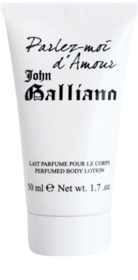 John Galliano Parlez-Moi d'Amour testápoló tej nőknek  teszter