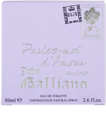 John Galliano Parlez Moi d'Amour Encore тоалетна вода за жени 4