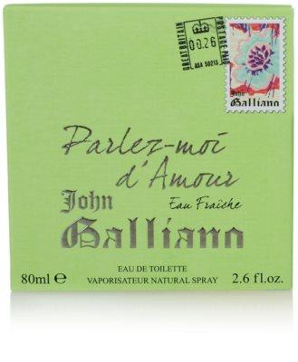 John Galliano Parlez-Moi d´Amour Eau Fraiche toaletna voda za ženske 4