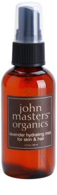 John Masters Organics All Skin Types vlažilno pršilo za obraz in lase