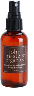 John Masters Organics All Skin Types hydratační sprej na obličej a vlasy 1
