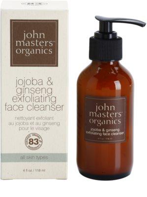 John Masters Organics All Skin Types exfoliante de rosto 1