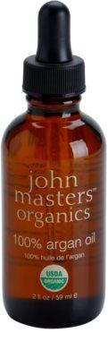 John Masters Organics 100% Argan Oil regeneračný olej na tvár, telo a vlasy