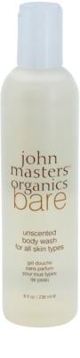 John Masters Organics Bare Unscented гель для душу без ароматизатора
