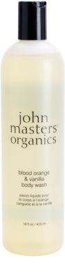 John Masters Organics Blood Orange & Vanilla gel za prhanje