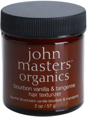 John Masters Organics Bourbon Vanilla & Tangerine cera para dar definición al peinado para un aspecto impecable del cabello