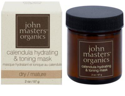John Masters Organics Calendula maseczka nawilżająco-tonizująca do twarzy 1