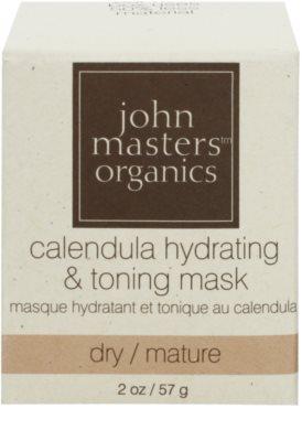 John Masters Organics Calendula maseczka nawilżająco-tonizująca do twarzy 2