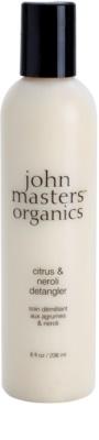 John Masters Organics Citrus & Neroli Balsam pentru par fin