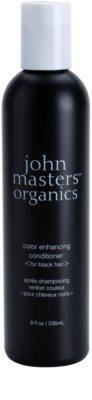John Masters Organics Color Enhancing balsam pentru revitalizarea parului negru