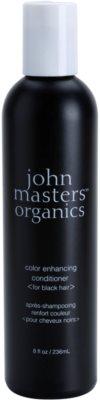 John Masters Organics Color Enhancing Condicionador para a recuperação do cabelo preto