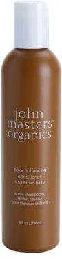 John Masters Organics Color Enhancing Balsam pentru revitalizarea parului castaniu