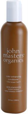 John Masters Organics Color Enhancing Condicionador para a  revitalização do cabelo castanho