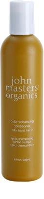 John Masters Organics Color Enhancing кондиціонер для відновлення блонд барви волосся