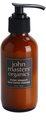 John Masters Organics Dry to Mature Skin čisticí pleťový krém