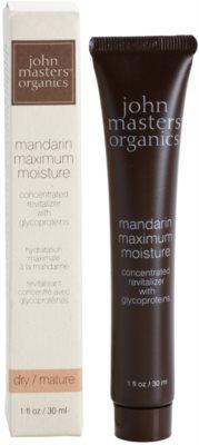 John Masters Organics Dry to Mature Skin intenzivní hydratační krém 1