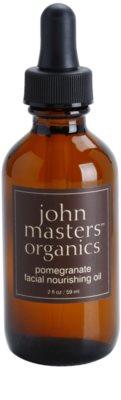 John Masters Organics Dry to Mature Skin ulei hranitor pentru piele