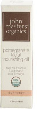 John Masters Organics Dry to Mature Skin aceite facial nutritivo 2