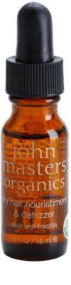 John Masters Organics Dry Hair Nourishment & Defrizzer aceite para el cuidado de la piel para alisar el cabello