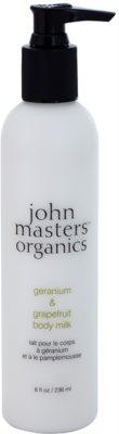 John Masters Organics Geranium & Grapefruit mleczko do ciała