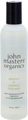 John Masters Organics Geranium & Grapefruit gel de ducha
