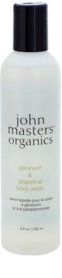 John Masters Organics Geranium & Grapefruit gel de dus