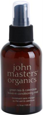 John Masters Organics Green Tea & Calendula bezoplachový kondicionér ve spreji proti krepatění