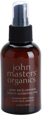 John Masters Organics Green Tea & Calendula conditioner Spray Leave-in anti-electrizare
