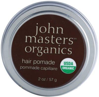 John Masters Organics Hair Pomade die Pomade zum glätten und nähren von trockenen und widerspenstigen Haaren