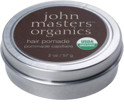 John Masters Organics Hair Pomade die Pomade zum glätten und nähren von trockenen und widerspenstigen Haaren 1