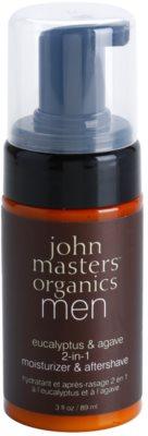 John Masters Organics Men хидратиращ балсам след бръснене 2 в 1