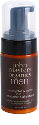 John Masters Organics Men bálsamo hidratante after shave 2 en 1