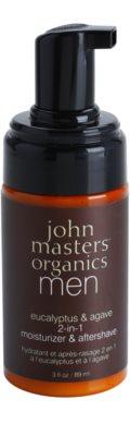 John Masters Organics Men зволожуючий бальзам після гоління 2в1 1