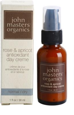 John Masters Organics Normal to Dry Skin antioxidáns nappali krém 2