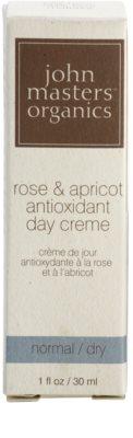 John Masters Organics Normal to Dry Skin antioxidáns nappali krém 3
