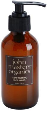 John Masters Organics Normal to Dry Skin oczyszczająca pianka do twarzy