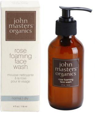 John Masters Organics Normal to Dry Skin очищаюча пінка для шкіри обличчя 2