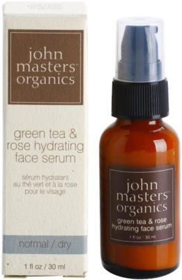John Masters Organics Normal to Dry Skin feuchtigkeitsspendendes Hautserum 2