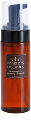 John Masters Organics Oily to Combination Skin pianka oczyszczająca regulująca wydzielanie sebum