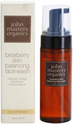 John Masters Organics Oily to Combination Skin pianka oczyszczająca regulująca wydzielanie sebum 2