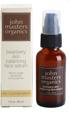 John Masters Organics Oily to Combination Skin sérum equilibrador da produção sebácea 2