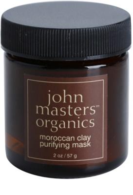 John Masters Organics Oily to Combination Skin oczyszczająca maseczka do twarzy