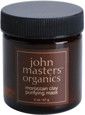 John Masters Organics Oily to Combination Skin tisztító arcmaszk