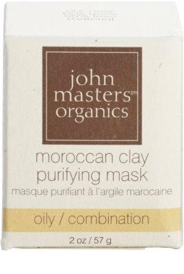 John Masters Organics Oily to Combination Skin čisticí pleťová maska 2