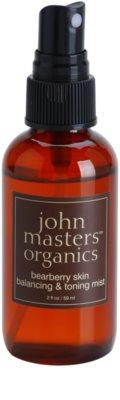 John Masters Organics Oily to Combination Skin tonikum ve spreji vyrovnávající tvorbu kožního mazu 1