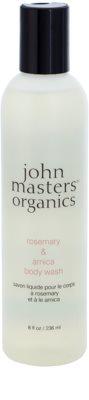 John Masters Organics Rosemary & Arnica gel de banho com efeito energizante
