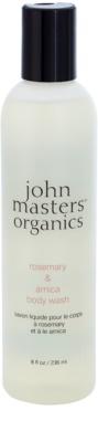 John Masters Organics Rosemary & Arnica gel de ducha con efecto energizante